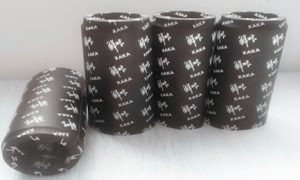 PVC shrink capsules on sauce