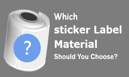 sticker label materials