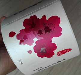 water-proof wine label