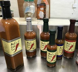 capsules for hot sauces