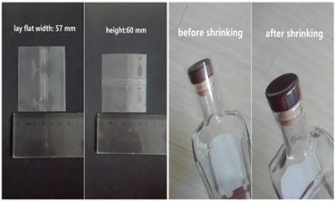 clear shrink bands