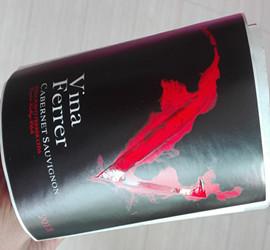 paper wine label