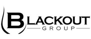 logo black out